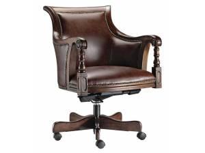 252-wooden-swivel-desk-chair